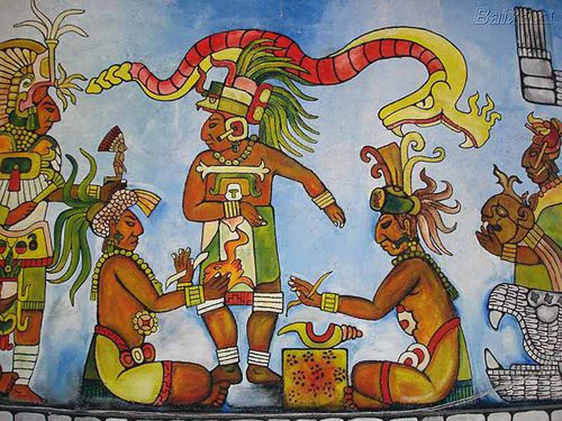 yucatec mayan art