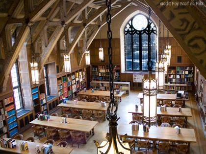 photo of Duke Library