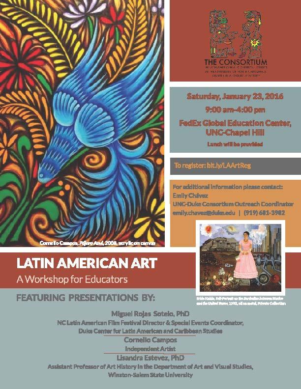 2016 Latin American Art workshop