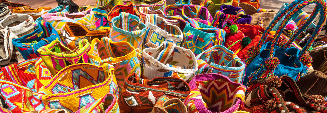 handmade baskets from bolivia