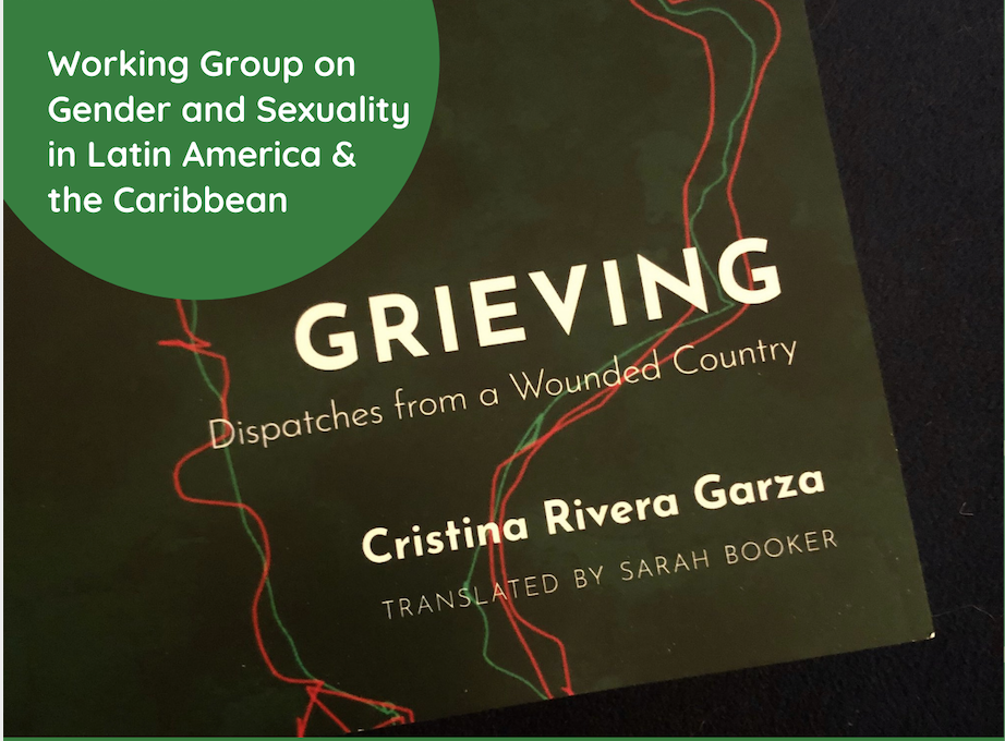 image of book Grieving by Cristina Rivera Garza