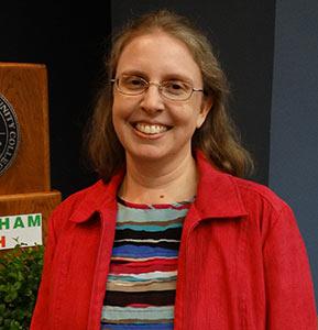 photo of Shannon Hahn, Durham Tech