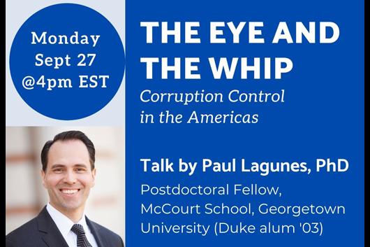 talk by Paul Lagunes